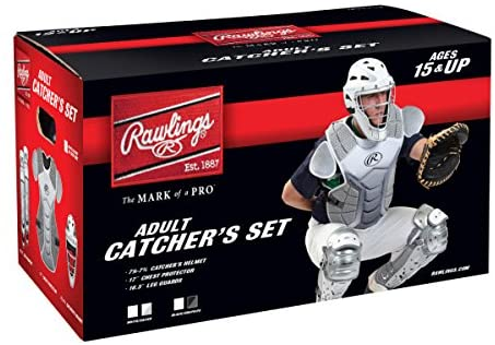 Rawlings Sporting Goods Adult Catcher Set Velo Series Protective Gear